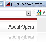 Opera глючная